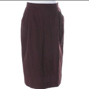 Christian Dior elegant side pockets skirt. 12.EUC.
